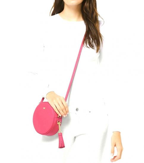 Michael Kors Rose Pink Canteen Small Crossbody