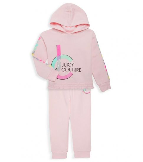 Juicy Couture 2 Piece Hoodie/Joggers Set (Little Girls)