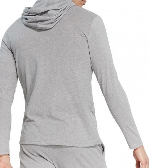 Calvin Klein Wolf Grey Heathered Chill Hoodie