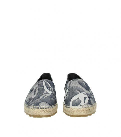 Alexander McQueen Grey Printed Espadrilles
