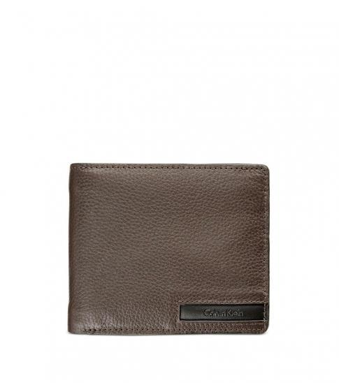 Calvin Klein Brown Billfold Wallet