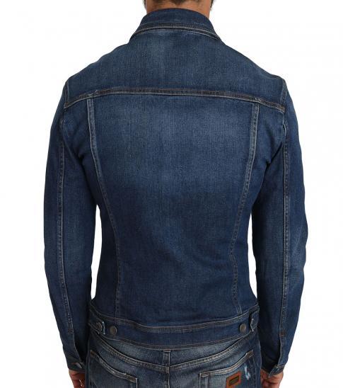 Dolce & Gabbana Blue Crown Bee Logo Jacket
