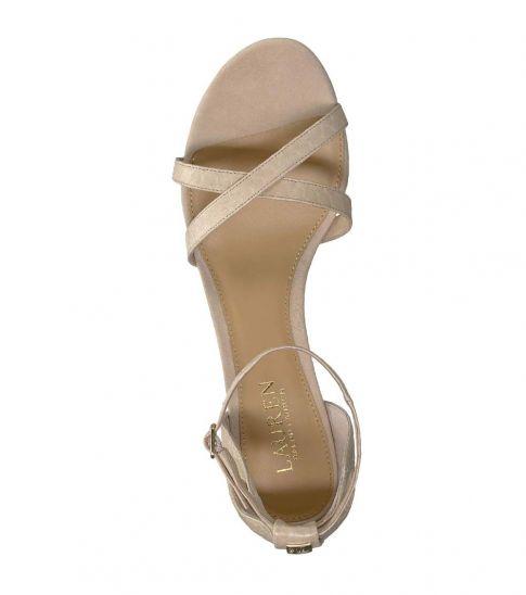 Ralph Lauren Light Straw Folly Heels