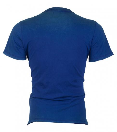 Diesel Blue Casual Graphic T-Shirt