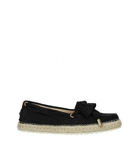 Tod's Black Suede Loafers