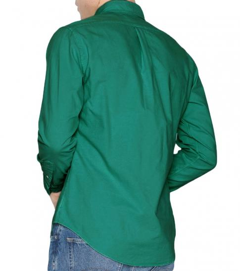 Ralph Lauren Dark Green Classic Fit Sport Shirt