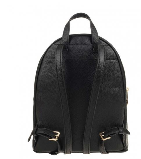 Michael Kors Black Abbey Medium Backpack