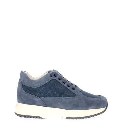 Hogan Blue Iconic Sneakers