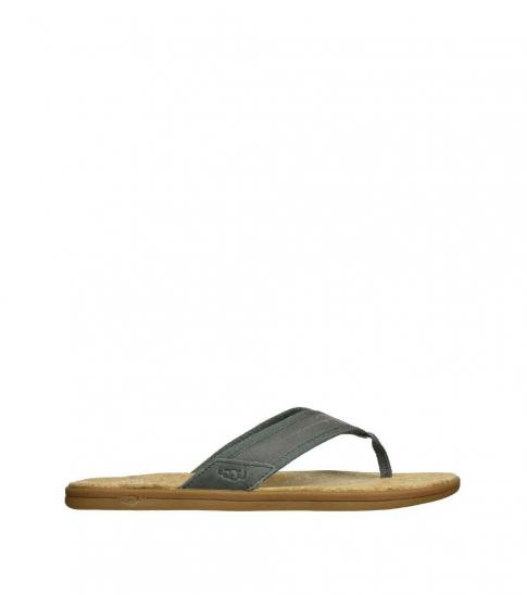 UGG Grey Seaside Beach Flip Flops