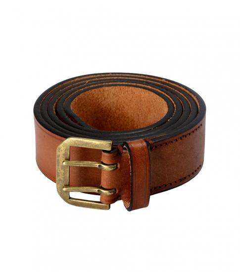 Dsquared2 Brown Distressed Leather Belt