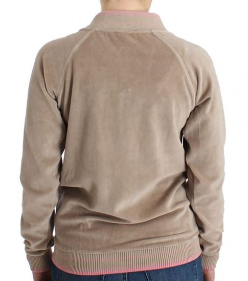Just Cavalli Beige Zip Up Jacket
