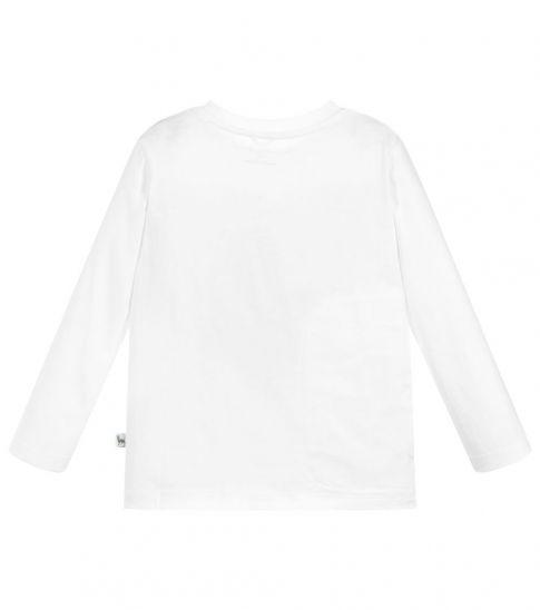 Stella McCartney Boys White Patches T-Shirt