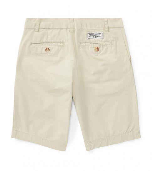 Ralph Lauren Boys Sand Straight Fit Chino Shorts