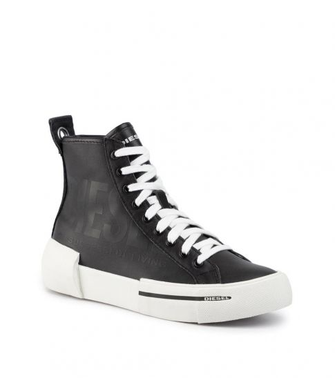 Diesel Black High Top Sneakers