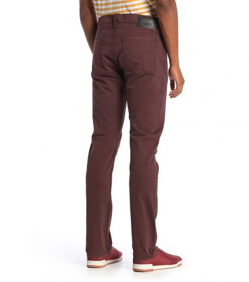 7 For All Mankind Blackend Adrien Slim Straight Jeans