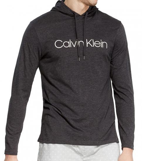 Calvin Klein Dark Grey Heathered Chill Hoodie