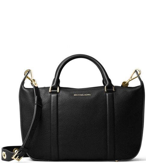 Michael Kors Black Raven Large Messenger Bag