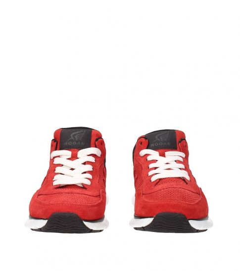 Hogan Red Classic Sneakers