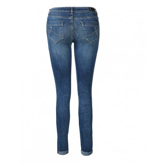 Armani Jeans Blue Mid Rise Cotton Jeans