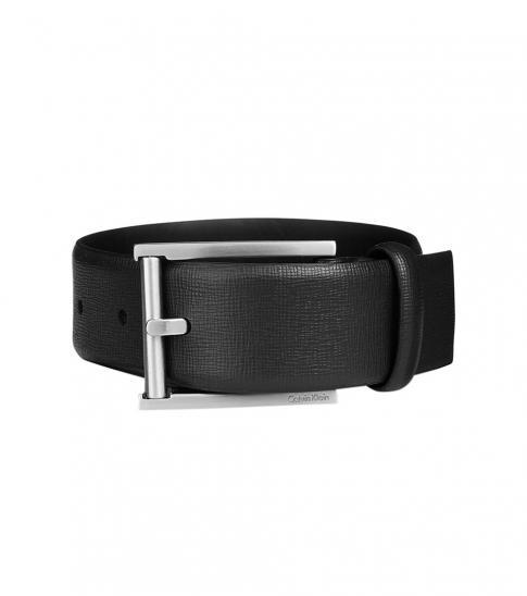 Calvin Klein Black Feather Edge Belt