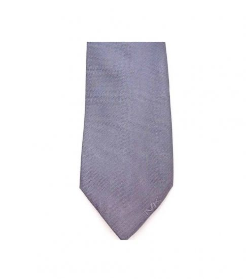 Michael Kors Grey Modern Slim Silk Tie