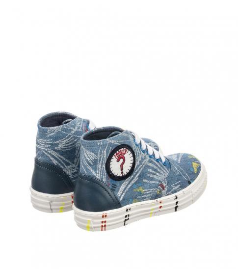 Stella McCartney Blue Denim Gonzales Sneakers