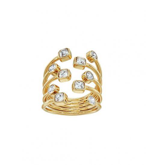 Michael Kors Gold Open Scatter Ring