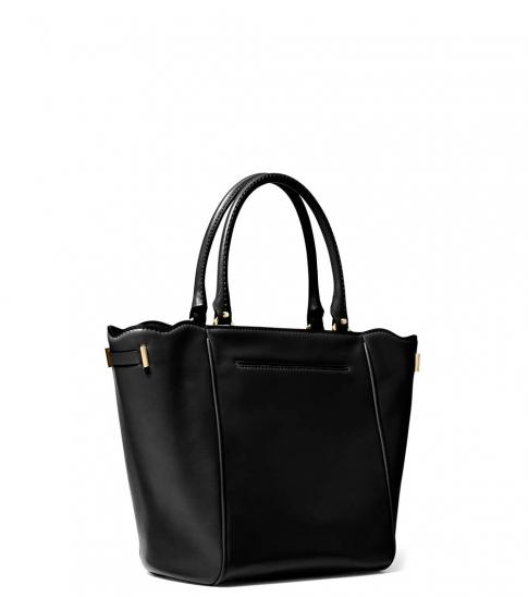 Michael Kors Black Amelia Small Satchel