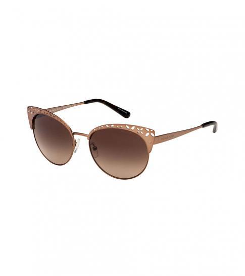 Michael Kors Satin Sable-Brown Evy Sunglasses