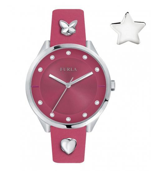 Furla Pink Logo Watch