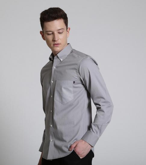 Self Stitch Minimalist Stripe Shirt