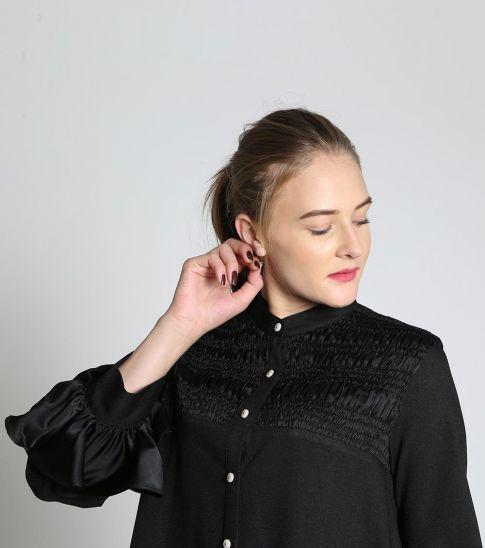 Self Stitch Black Claire Top