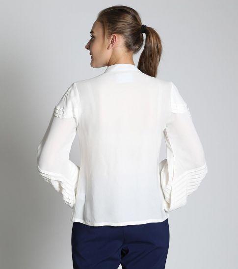 Self Stitch Classic Pleated Shirt
