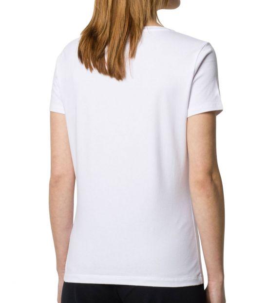 Emporio Armani White Classic Logo T-Shirt
