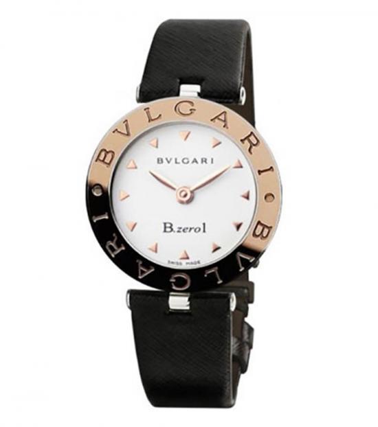 Bulgari Black Stainless Steel Watch