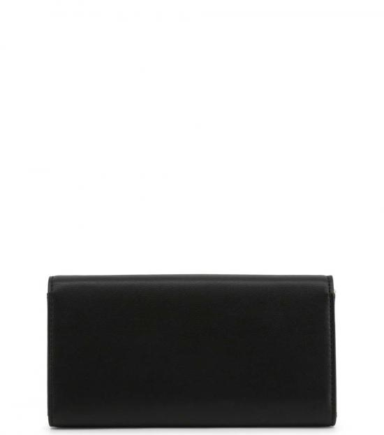 Love Moschino Black Logo Plate Clutch