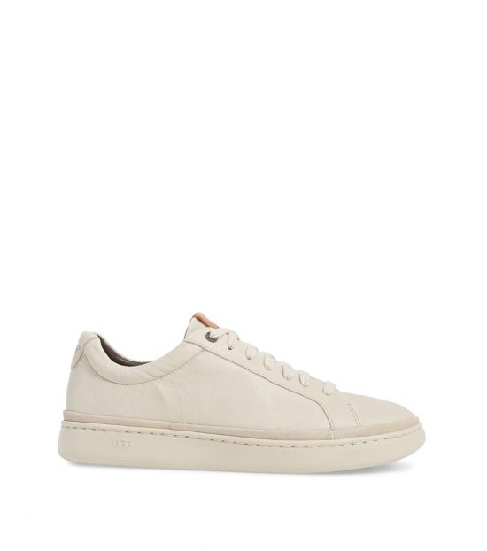 UGG White Cali Low Top Sneakers