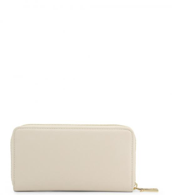 Love Moschino White Studded Heart Wallet