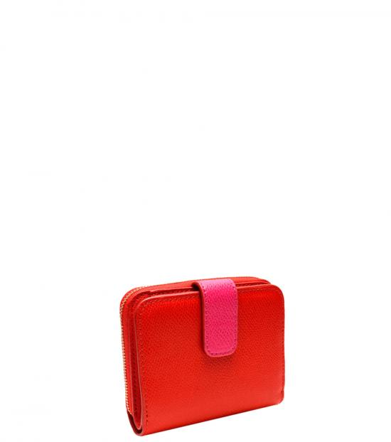 Coach Red Zip Around Wallet