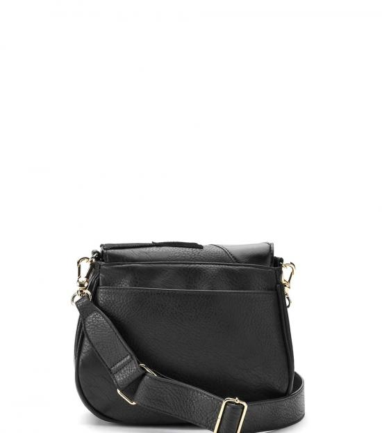 Juicy Couture Black Patchwork Flap Small Crossbody
