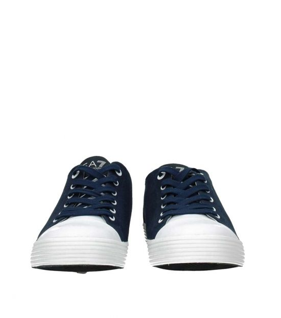 Emporio Armani Blue Low Top Sneakers