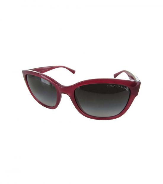 Armani Exchange Red Grey Fashion Sunglasses