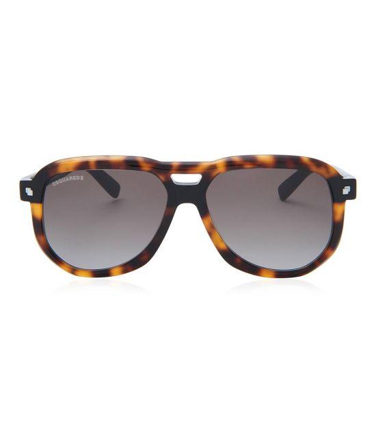 Dsquared2 Brown Square Sunglasses