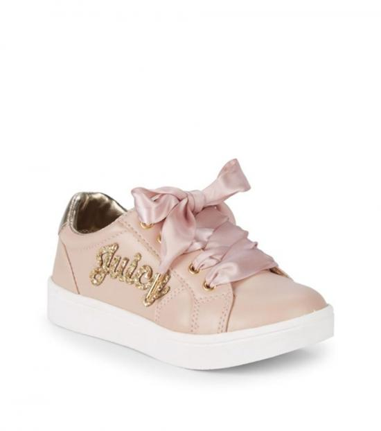 Juicy Couture Blush Satin Laces Sneakers