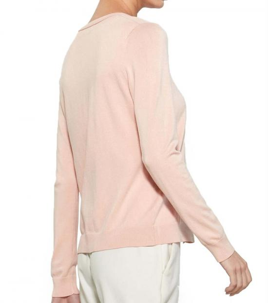 Calvin Klein Blush Hardware Button Cardigan