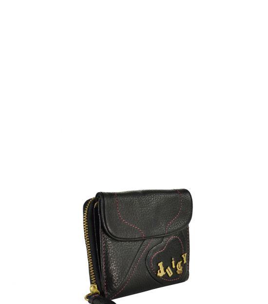 Juicy Couture Black Heart Wallet