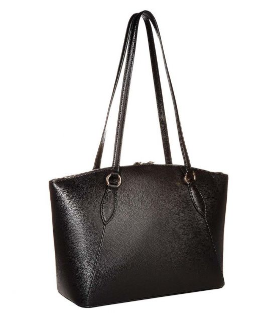 Karl Lagerfeld Black Iris Medium Tote