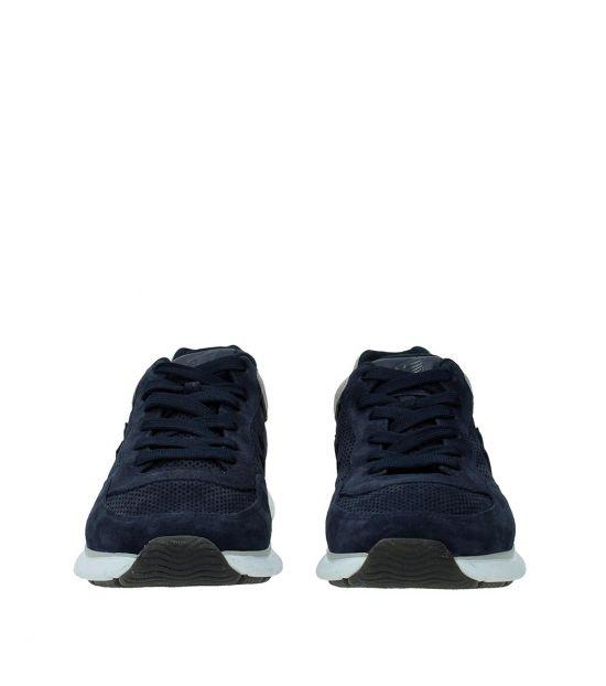 Hogan Blue Logo Detail Sneakers