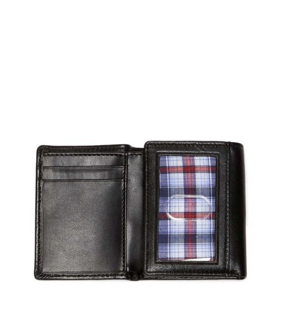 Original Penguin Blk Gramercy Tri-Fold Wallet