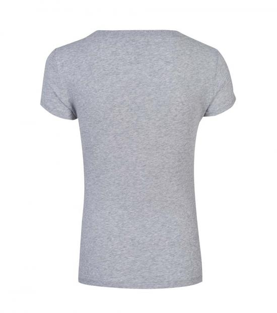 Love Moschino Grey Basic Love T-Shirt